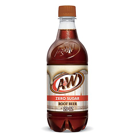 A&W Soda Root Beer Diet - 20 Fl. Oz.