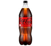 Coca-Cola Soda Zero Sugar - 2 Liters
