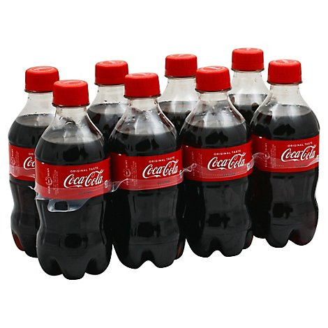 Coca-Cola Soda Pop Classic - 8-12 Fl. Oz.