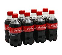 Coca-Cola Soda Cola - 8-12 Fl. Oz.