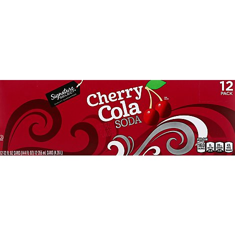 Signature SELECT Soda Cherry Cola - 12-12 Fl. Oz.