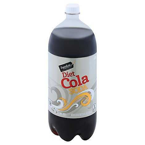 Signature SELECT Soda Diet Cola - 2 Liter