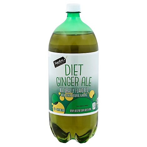 Signature SELECT/Refreshe Soda Ginger Ale Diet - 2 Liter