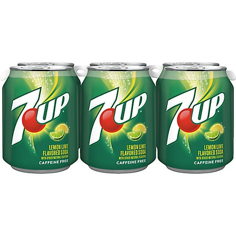7UP Soda Lemon Lime Mini Cans - 6-8 Fl. Oz.