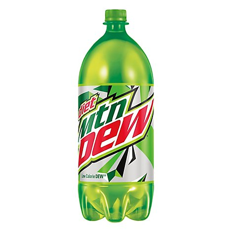 Mtn Dew Soda Diet Low Calorie - 2 Liter