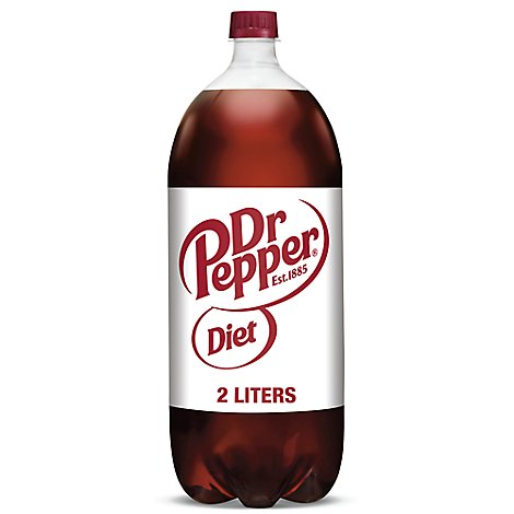 Diet Dr Pepper Soda - 2 Liter