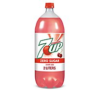 7UP Soda Diet Cherry - 2 Liter