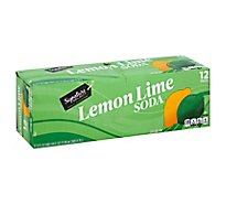 Signature SELECT Soda Lemon Lime - 12-12 Fl. Oz.