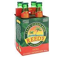 Reeds Soda Ginger Brew Extra Ginger Brew - 4-12 Fl. Oz.