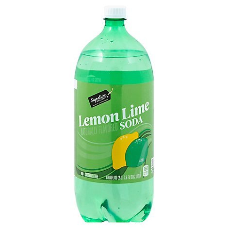 Signature SELECT Soda Lemon Lime - 2 Liter