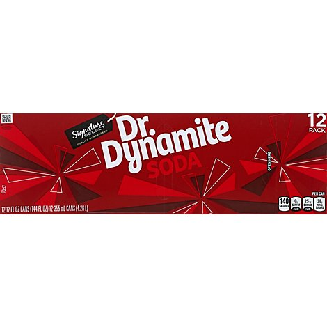 Signature SELECT Soda Dr. Dynamite - 12-12 Fl. Oz.