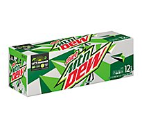 Mtn Dew Soda Diet - 12-12 Fl. Oz.