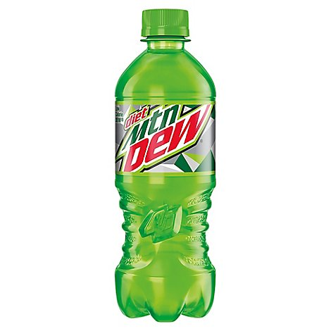 Mtn Dew Soda Diet - 20 Fl. Oz.