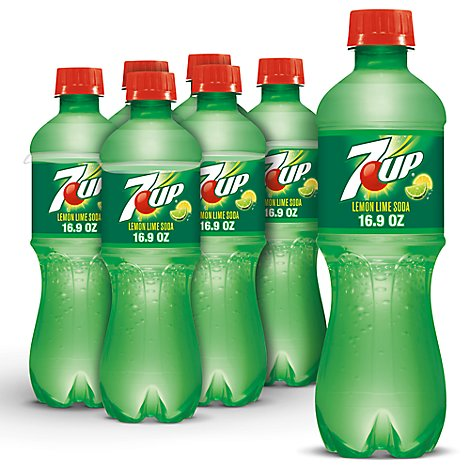 7UP Soda Lemon Lime - 6-16.9 Fl. Oz.