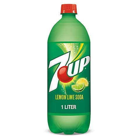 7UP Soda Lemon Lime - 1 Liter