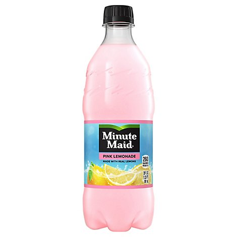 Minute Maid Pink Lemonade - 20 Fl. Oz.