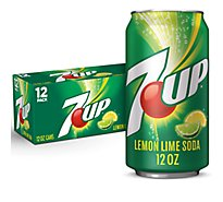7UP Soda Lemon Lime In Can - 12-12 Fl. Oz.