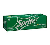 Sprite Soda Pop Lemon Lime Pack In Cans - 12-12 Fl. Oz.