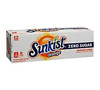 Sunkist Soda Diet Orange - 12-12 Fl. Oz.