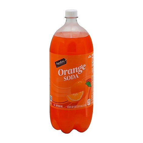 Signature SELECT/Refreshe Soda Orange - 2 Liter