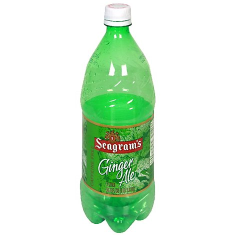 Seagrams Soda Pop Ginger Ale - 1 Liter