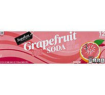 Signature SELECT Soda Grapefruit - 12-12 Fl. Oz.