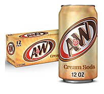 A&W Soda Cream In Can - 12-12 Fl. Oz.