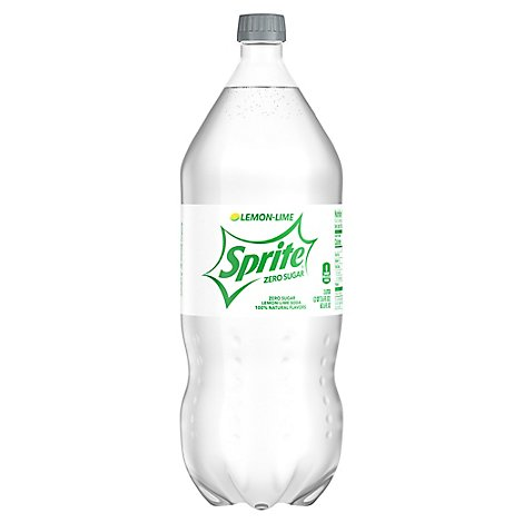 Sprite Soda Lemon Lime Zero Sugar - 2 Liter