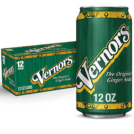 Vernors Soda The Original Ginger - 12-12 Fl. Oz.