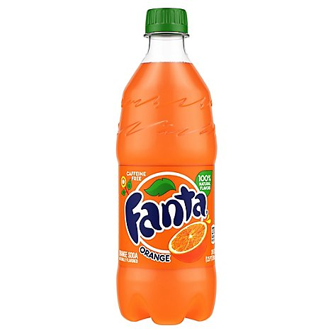Fanta Soda Orange - 20 Fl. Oz.
