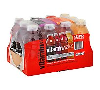 vitaminwater Water Beverage Nutrient Enhanced Variety Pack - 12-20 Fl. Oz.