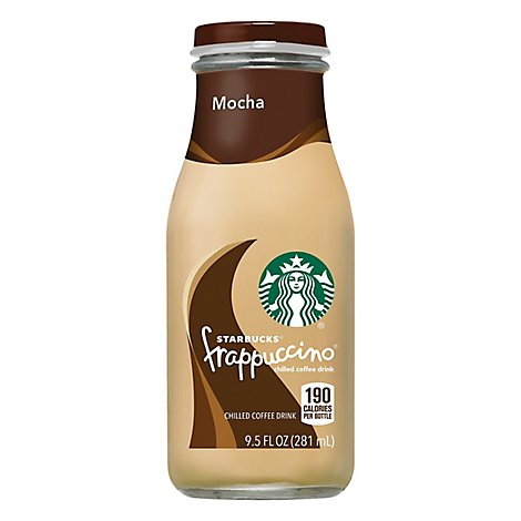 Starbucks frappuccino Coffee Drink Chilled Mocha - 9.5 Fl. Oz.