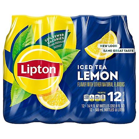 Lipton Iced Tea Lemon - 12- - Online
