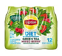 Lipton Green Tea Diet Mixed Berry - 12-16.9 Fl. Oz.