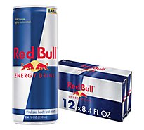 Red Bull Energy Drink - 12-8.4 Fl. Oz.