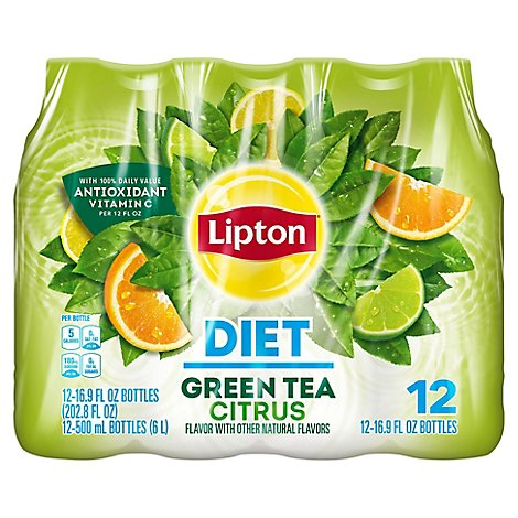 Lipton Green Tea Diet Citrus - 12-16.9 Fl. Oz.