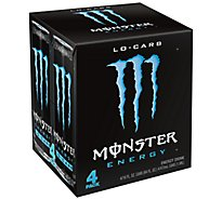 Monster Energy Drink Lo Carb - 4-16 Fl. Oz.