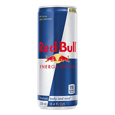 Red Bull Energy Drink Can - 8.3 Fl. Oz.