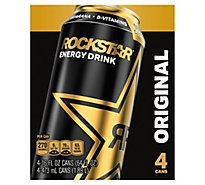 Rockstar Energy Drink - 4-16 Fl. Oz.