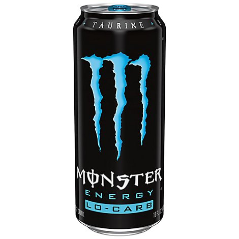 Monster Energy Drink Lo Carb - 16 Fl. Oz.