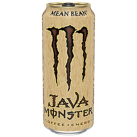 Monster Energy Java Monster Coffee + Energy Drink Mean Bean - 15 Fl. Oz.
