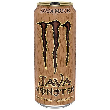 Monster Energy Java Monster Coffee + Energy Drink Loca Moca - 15 Fl. Oz.