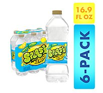 Nestle Splash Water Beverage Natural Lemon - 6-16.9 Fl. Oz.