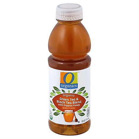 O Organics Organic Green and Black Tea with Honey - 16 Fl. Oz.