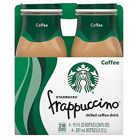 Starbucks frappuccino Coffee Drink Chilled Coffee - 4-9.5 Fl. Oz.
