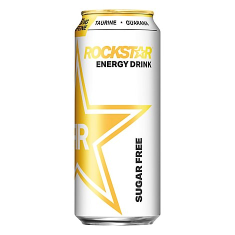 Rockstar Energy Drink Sugar Free - 16 Fl. Oz.
