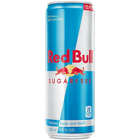 Red Bull Energy Drink Sugar Free - 12 Fl. Oz.