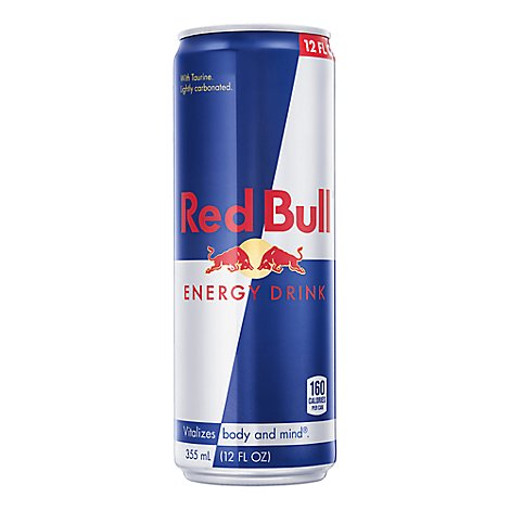 Red Bull Energy Drink - 12 Fl. Oz.