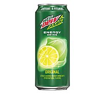 AMP Energy Drink Boost Original Citrus - 16 Fl. Oz.