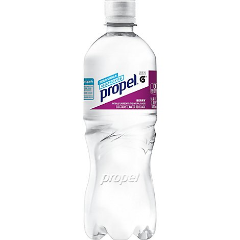 Propel Water Beverage with Electrolytes & Vitamins Berry - 6-16.9 Fl. Oz.